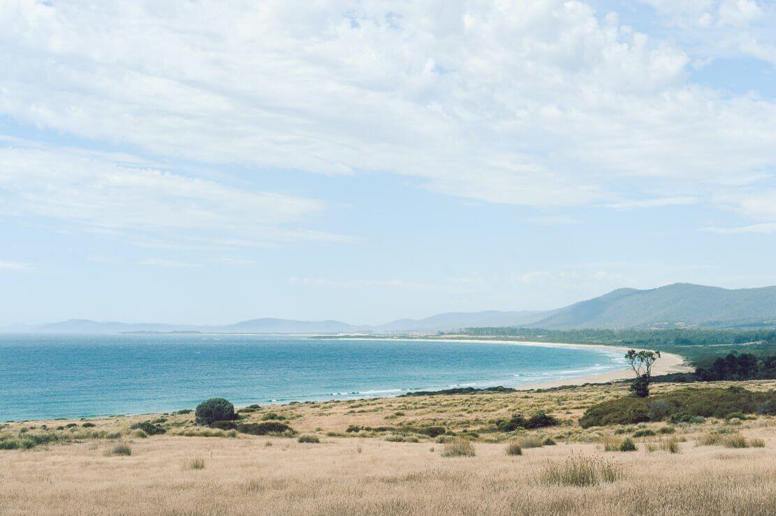 Bicheno on East Cost of Tasmania
