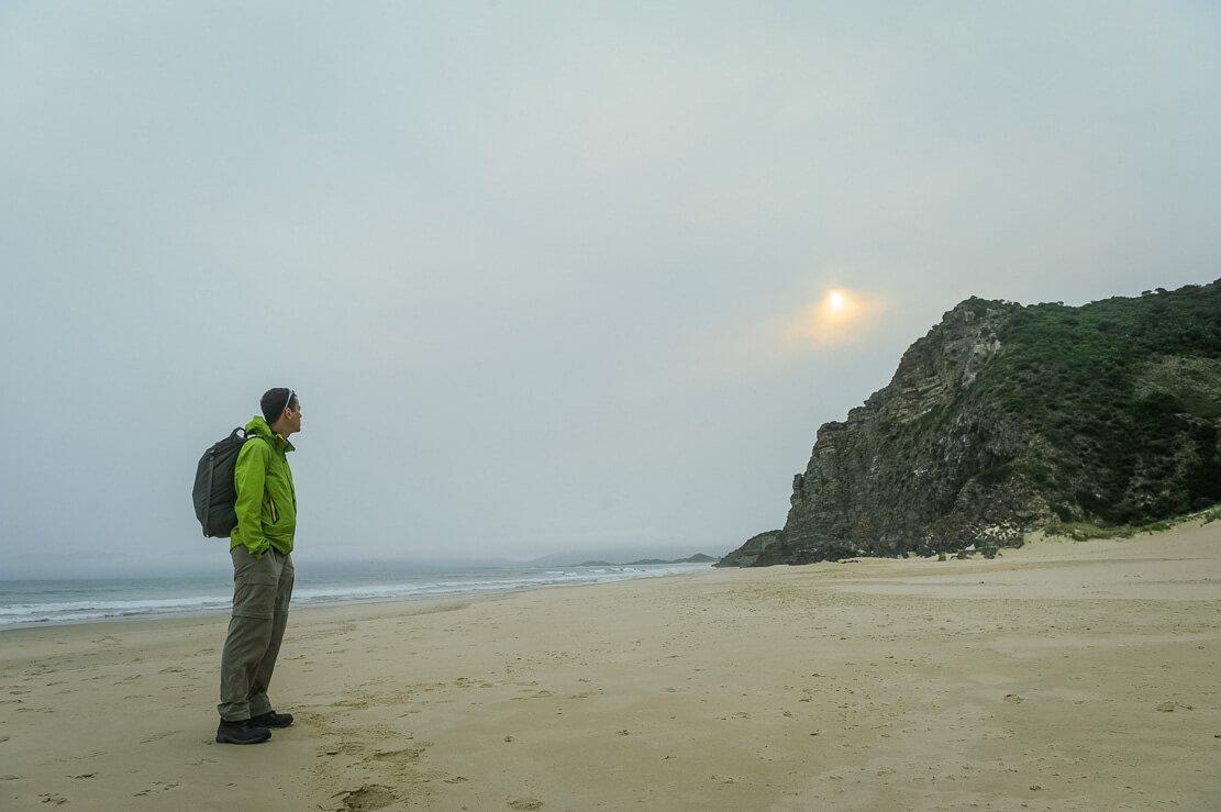 Cape Queen Elizabeth walk on Bruny Island in Tasmania