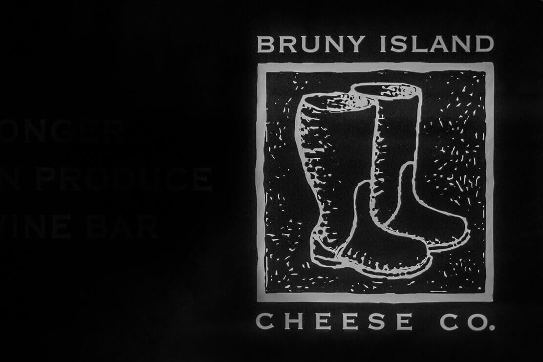 Trying Bruny Island cheeses on Bruny Island in Tasmania