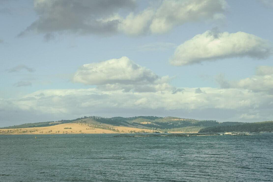 Bruny Island in Tasmania
