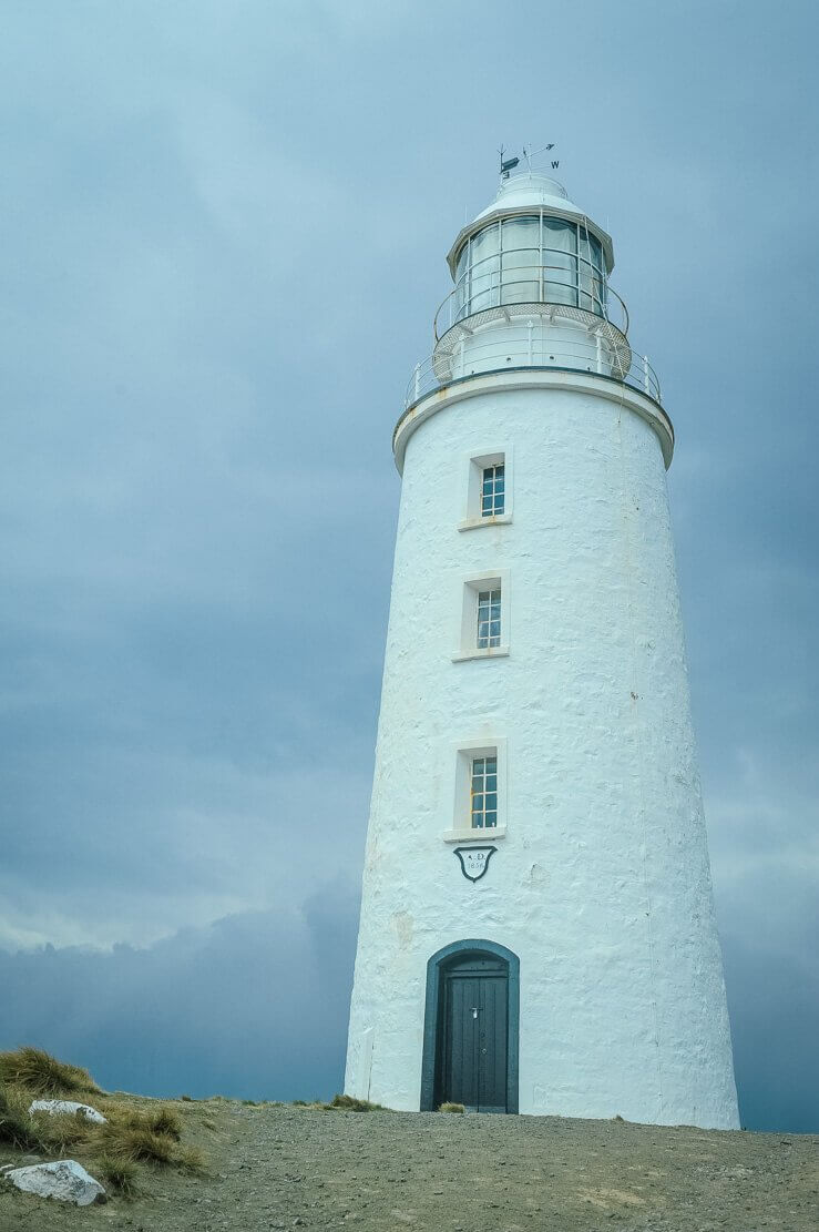 Cape Bruny Lighthouse on Bruny Island in Tasmania