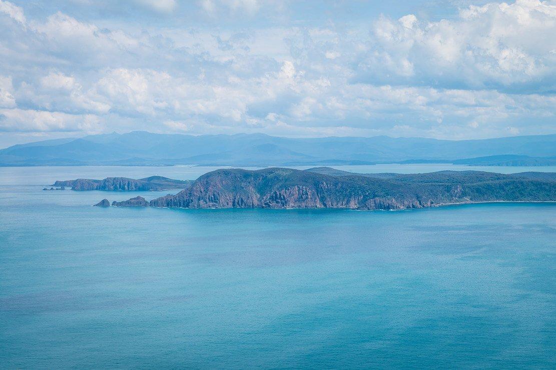 Walks at Cloudy Bay on Bruny Island in Tasmania