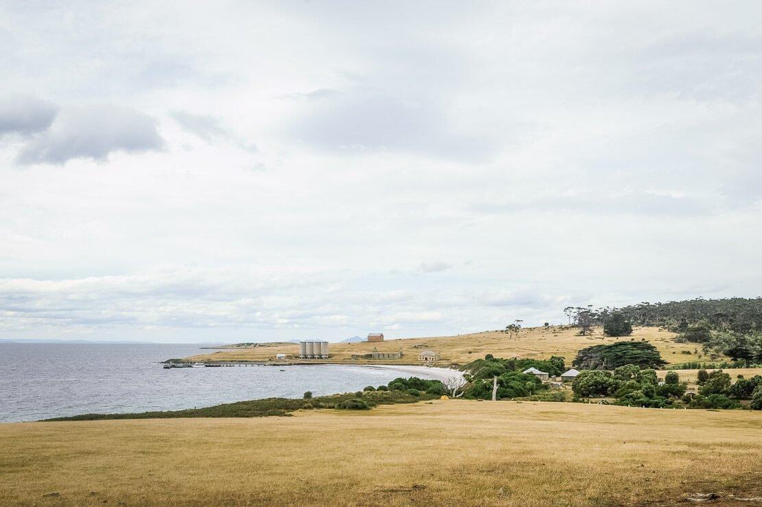 Darlington on Maria Island in Tasmania