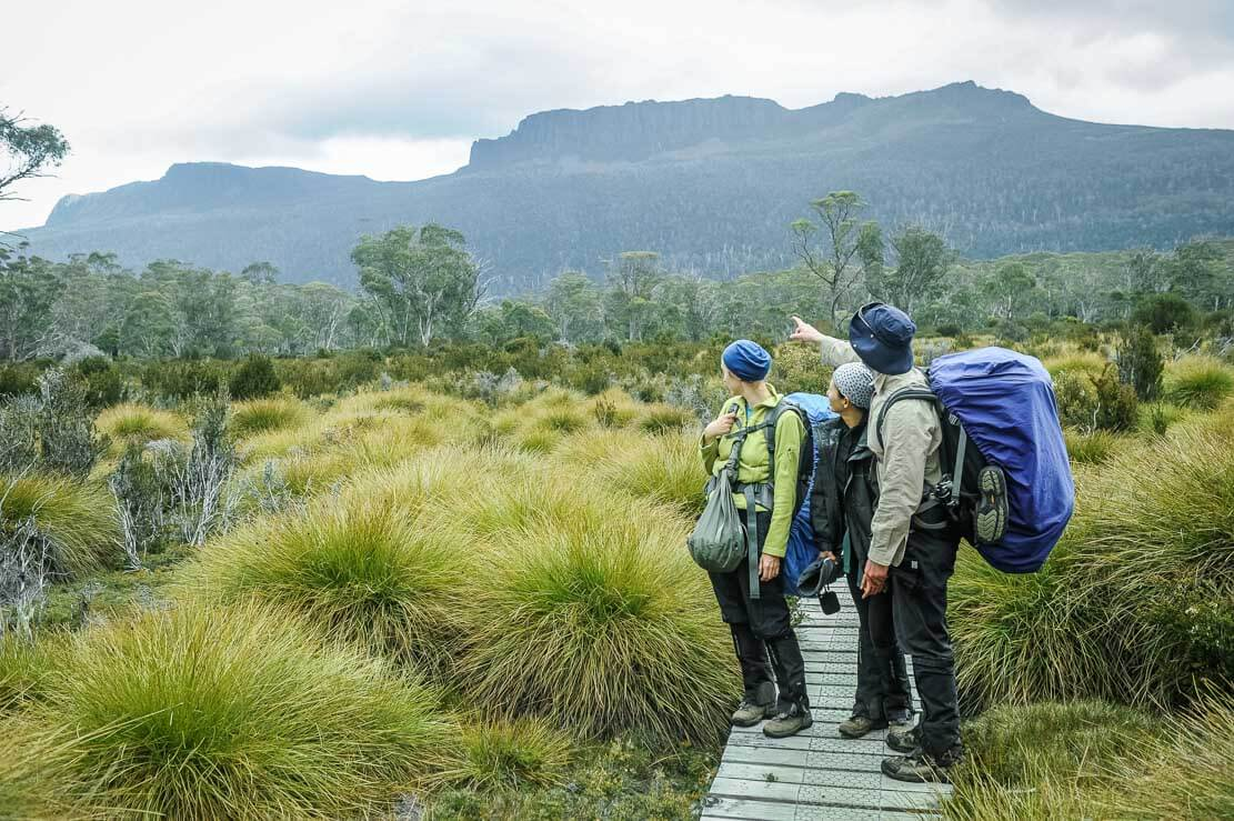 Day 7 of our Overland Track in Tasmania