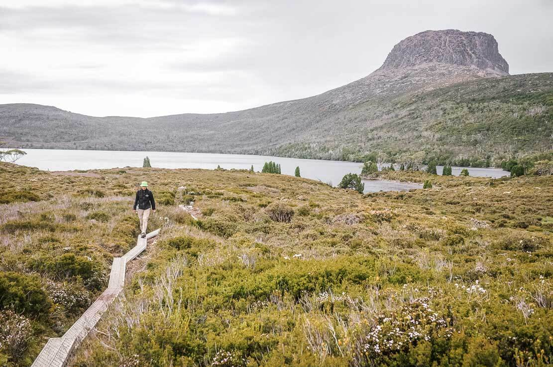 Near Lake Will on Day 2 of Overland Track