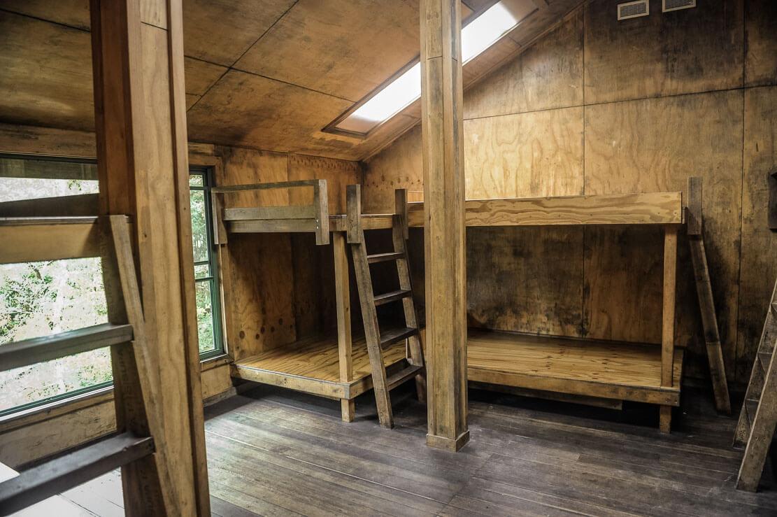 Inside Windermere Hut