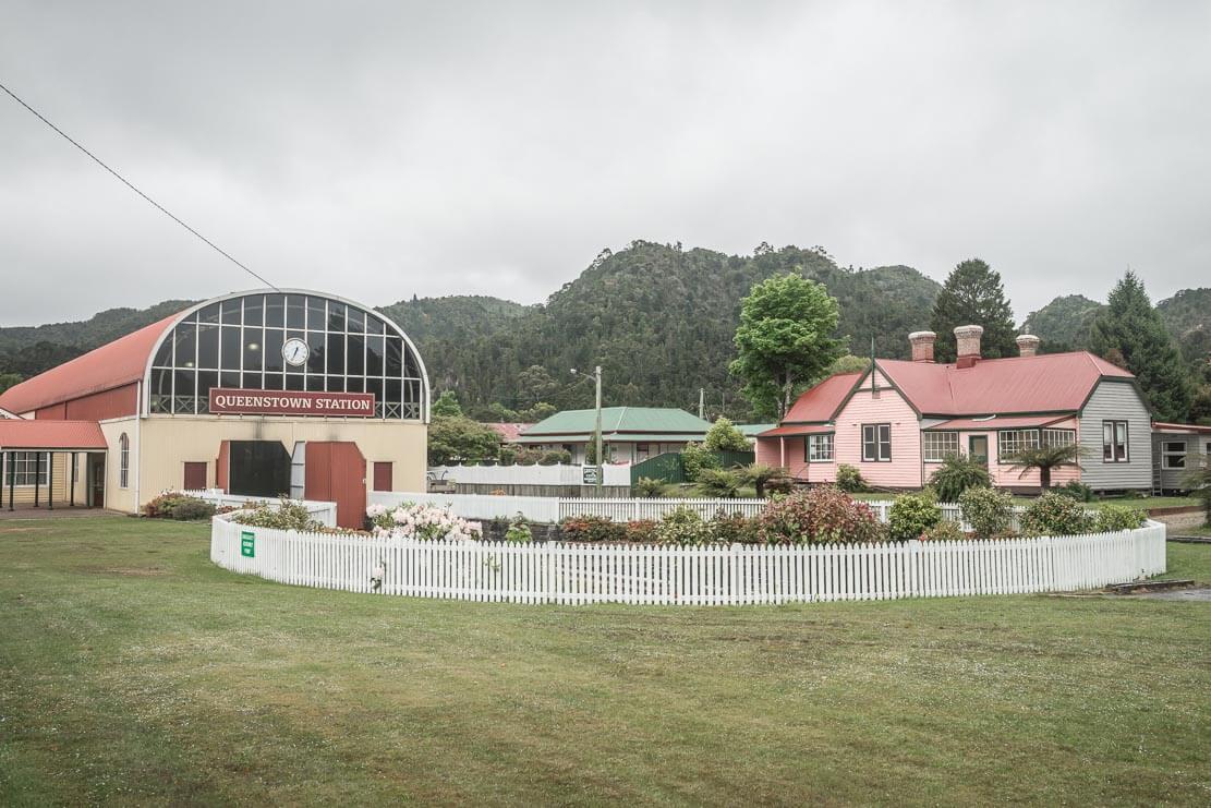 West Coast Wilderness Railway of Queenstown on the West Coast of Tasmania
