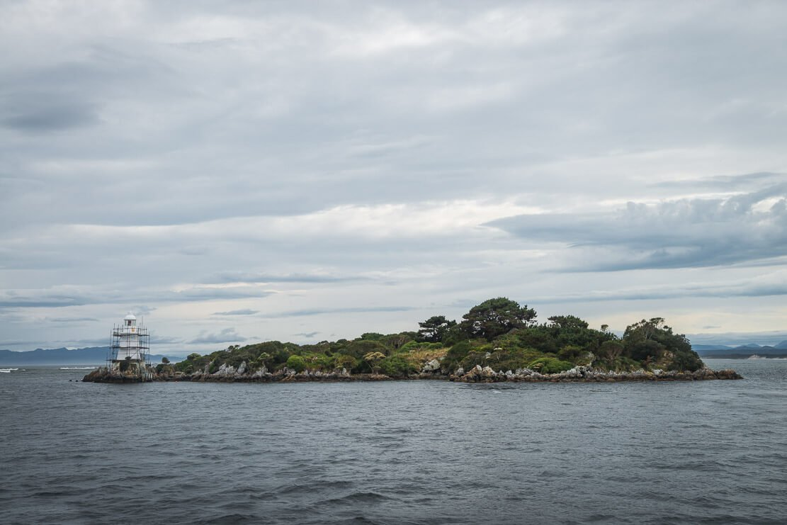 Views from the boat on Gordon River Cruise in Strahan