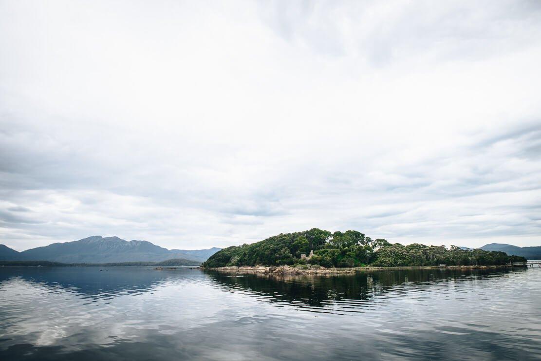 Sarah Island near Strahan on the West Coast of Tasmania