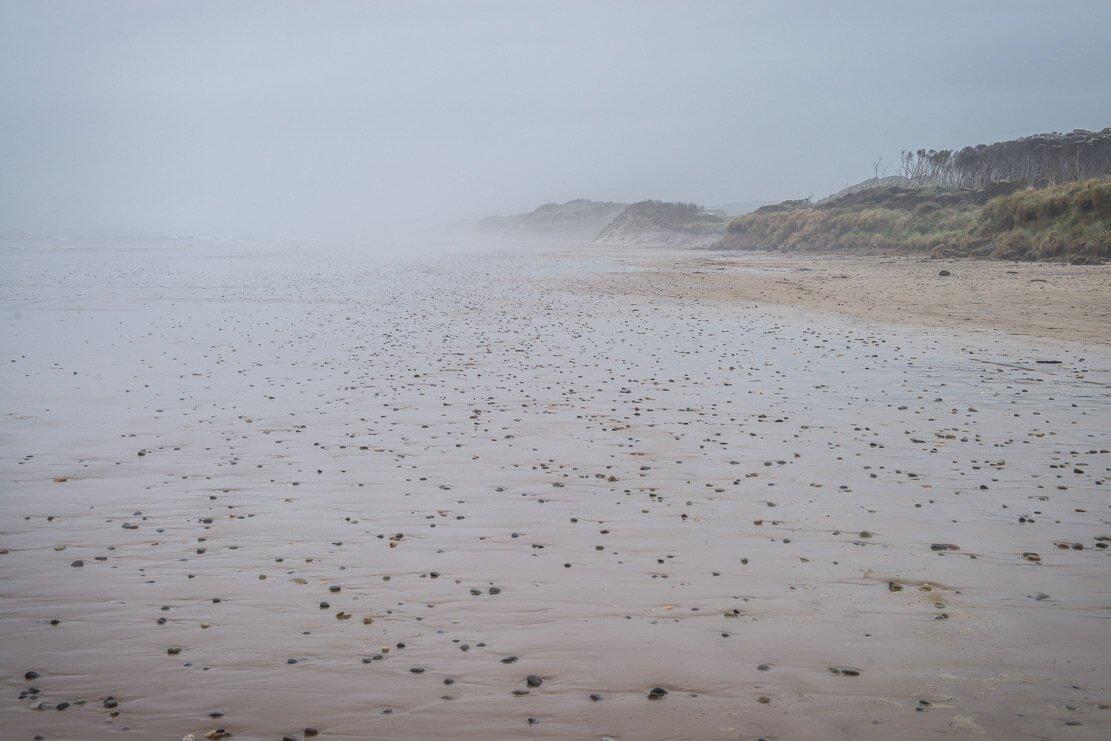 Ocean Beach in Strahan on the West Coast of Tasmania