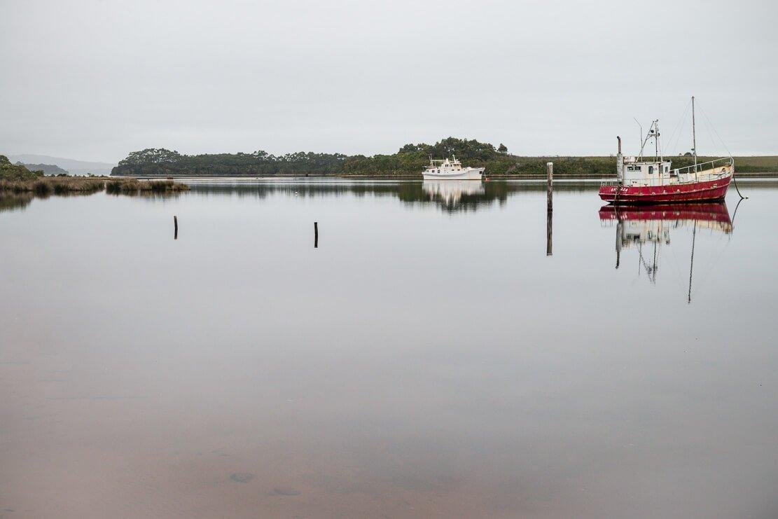 Strahan on the West Coast of Tasmania