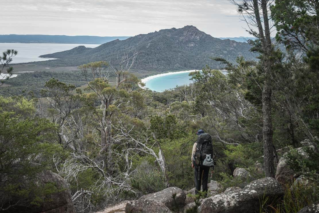 Freycinet Peninsula Circuit in Freycinet National Park in Tasmania