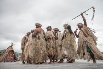 Melanesian Festival has brought together the performers from across the region - Vanuatu, Solomon Islands, New Caledonia, Fiji, and PNG but also from West Papua, Timor Leste and the Torres Strait Islands