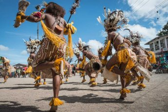 Cultural group from Oro Province of Papua New Guinea at Melanesian Festival of Arts and Culture
